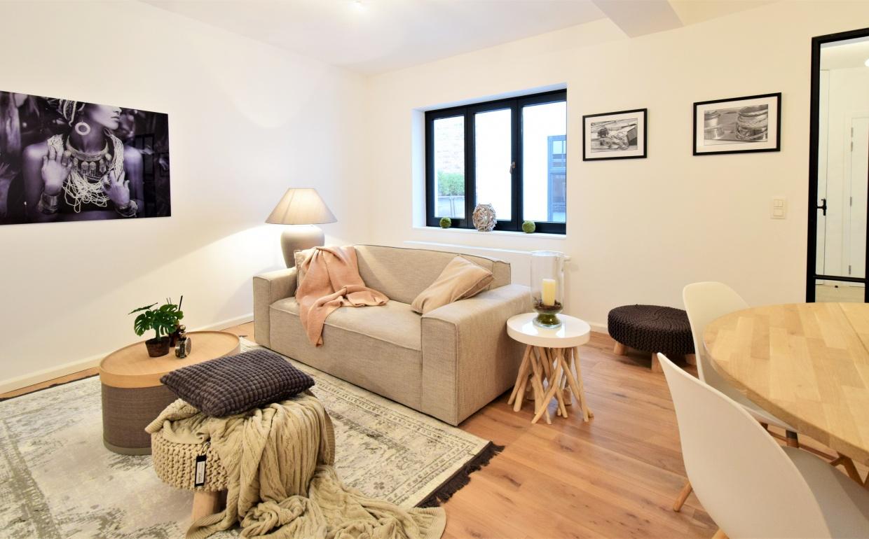 huur een interieur, casa nova vastgoedstyling, appartementen te brugge, scandinavisch interieur, zuiver, albert chair, te koop in brugge, styling van een appartement