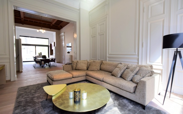 la concorde elsene, te koop brussel, ixelles for sale, sanpatrignano, gouden meubelen, golden furniture, Casanova vastgoedstyling, luxury real estate, real estate brussels, mansion for sale,