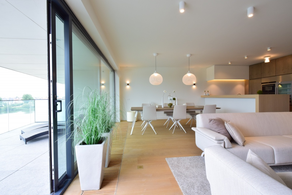 Luxe Interieur Inrichting : Luxe appartement la reserve knokke casa nova vastgoedstyling