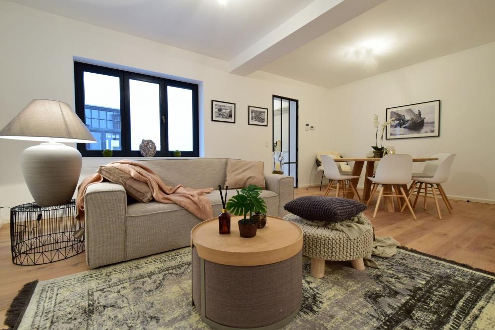 huur een interieur, casa nova vastgoedstyling, appartementen te brugge, scandinavisch interieur, zuiver, albert chair, te koop in brugge, styling van een appartement,